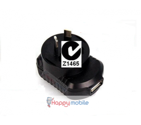USB Wall Charger Universal (NZ Safety) 5W 5V 1.2A Works on just about everything