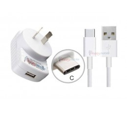 Wall Charger + Genuine Samsung Type-C Cable USB-C USB 3.1 [A3 A5 A7 E5 E7 2017]