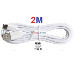 2M Type-C Cable Type C USB 3.1 to Type A 2.0 USB-C Cable 2 METRE S8 S9 A8+ CABLE