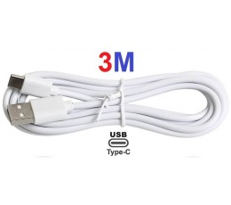 Samsung WALL Charger + 3M TYPE-C Cable USB-C S9 S8 A3 Note 8/9 3 meter