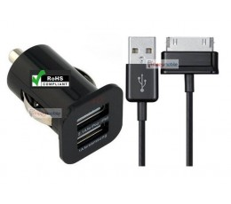 Samsung Car Charger Tab P1000 P3110 P3113 P5110 P6210 P6810 P7110 P7310 P7510 Note N8000 N8010 N8020