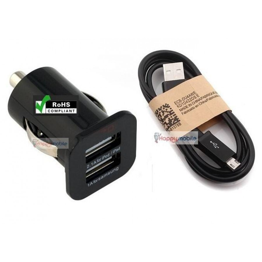 Alcatel car charger micro usb cable one touch tribe pop