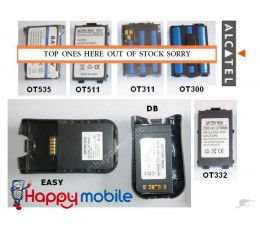 ALCATEL Battery One Touch Easy 525 332 511 DB OneTouch OT526 OT-331 BG3 BF4 BE1
