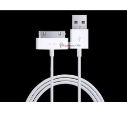 iPhone 4S 4 3GS iPad 1 2 iPod Wall Charger + USB 30-PIN Cable