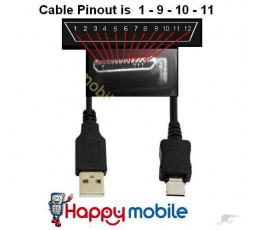 Cable i68+, i9+, i9+++ china Sciphone cect USB DATA Sync Charge Cable