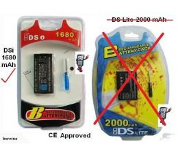 DSi NDSi Nintendo dsi Battery 1680mah (Retail Boxed) + screwdriver tool