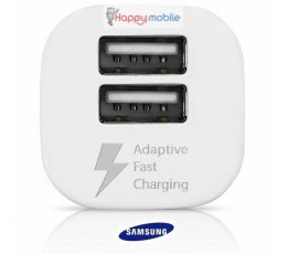 S8 Samsung Car Charger Genuine AFC Dual Port +EP-DN930CW TYPE-C USB-C Cable 3.1