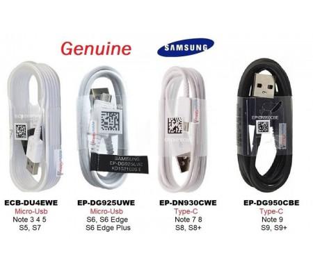 Genuine Samsung Cables EP-DG950CBE EP-DN930CWE EP-DG925UWE ECB-DU4EWE