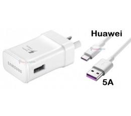 Huawei P20 P10 P9 Mate 20 10 9 Nova 3 3e 3i 2 2i 2s 2+ Wall Charger Type-C Cable