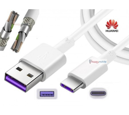 SUPERFAST TYPE-C USB-C USB 3.1 Huawei P10 P20 Cable 4.5V Fast Charge Genuine 5A