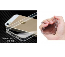 0.3mm Soft Silicon Case for iPhone 5 5s 5g Apple Silicone Cover - 4 colours