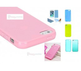 iPhone 5 5s 5g Case Cover Soft Silicon 0.3mm Apple Silicone Cover - 4 colours