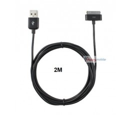 2m iphone ipad ipod data charge cable 2 METER Usb Sync data + Charge Cable 30pin