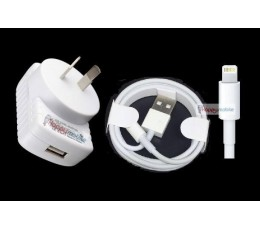 iphone 8 7 6 5 ipad 4 air pro mini Wall Charger + Lightning Cable 8pin ios11 /10