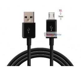 20 x Micro Usb Cables - Black only - 1 PKT bulk = 20pcs 80CM Length
