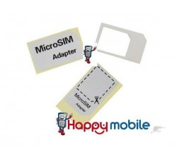 Micro SIM Card Cutting Template + 1 Adaptor Convert MINI-Sim-Card to MICRO-Sim