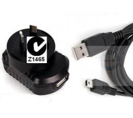 WALL Charger + Mini Usb Cable iMate Dopod Okta Huawei sony ericsson x1 vodafone