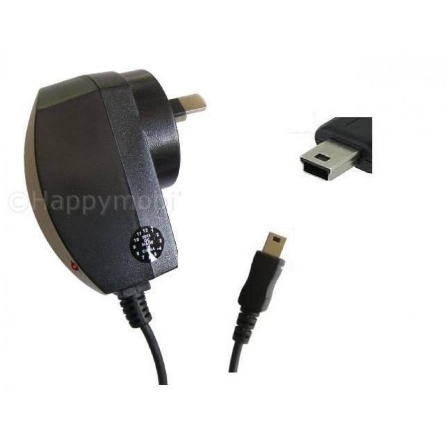 Wall Charger With Mini Usb Cable For Htc Motorola