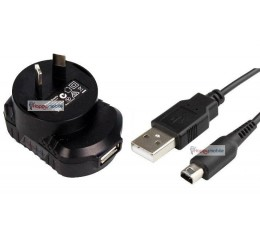 Nintendo DSi NDSi DSiXL XL LL WALL Charger + Usb CABLE TWL-001 UTL-001