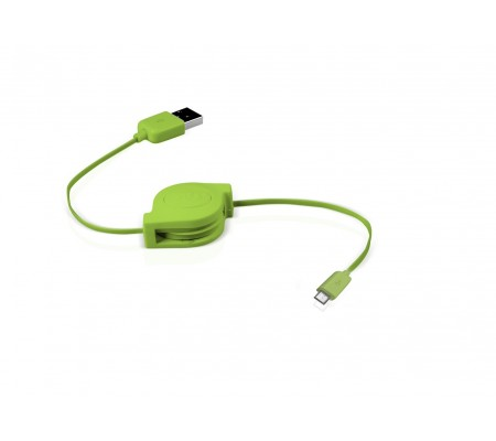 Micro Usb RETRACTABLE Cable for Cable for htc lg nokia moto sony samsung mobile phones