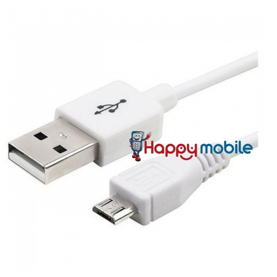 samsung micro usb sync charge cable white