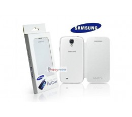 Samsung S4 Flip Case Genuine Cover for i9500 i9505 i9506 EF-FI950BWESTA white