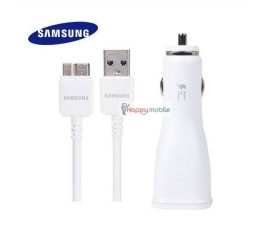 S5 N3 Note 3 Car Charger Samsung Genuine AFC + USB 3.0 Cable 1.5m 21 pin Micro B