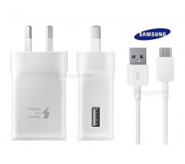 Genuine Samsung Wall Charger +Type-C Cable USB-C C5 C7 A3 A5 A7 E5 E7 S8 S9 plus
