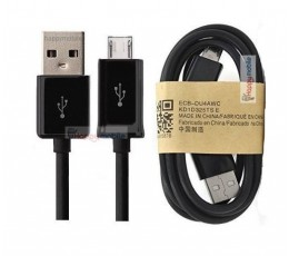 20 x Micro Usb Cables - Black only - 1 PKT bulk = 20pcs 0.80mm Length