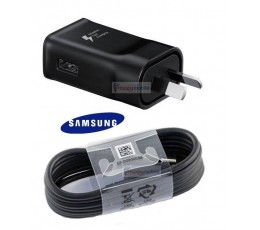 Samsung Wall Charger Genuine +Type-C Cable USB-C C5 C7 A3 A5 A6 A6+ A8 A8+ S8 S9