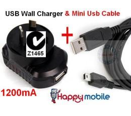 Motorola mini usb WALL Charger U6 V6 V190 V195 V197 V235 V323 V323i V325 Z3 Z6