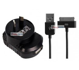 iPhone 4 iPhone 4S iPhone 3gs Wall Charger + USB 30-PIN Cable