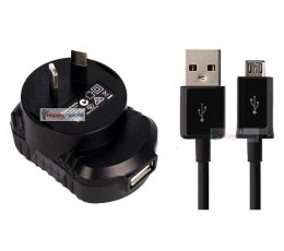 Blackberry 8520 8530 8230 8900 9100 9320 9500 9530 9580 Micro Usb WALL Charger