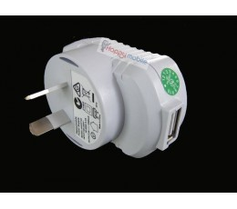 White USB Wall Charger for Samsung Lg HTC Moto Blackberry Sony Kindle Google Vodafone etc.. 5V 5W 1.2A 1200mA nz
